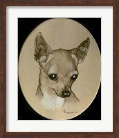Framed Dog Nine