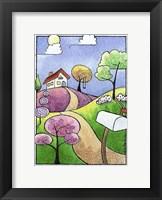 Framed Little Cottage
