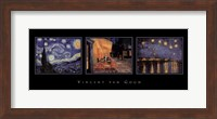 Framed Van Gogh Trilogy