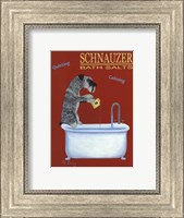 Framed Schnauzer Bath Salts