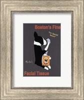Framed Boston's Fine Facial Tissues