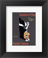 Framed Boston's Fine Facial Tissues