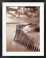 Framed Klug Beach Fence