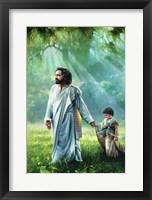 Framed He Leadeth Me