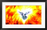 Framed Holy Spirit Fire