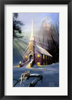 Framed Rock Church