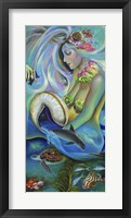 Framed Fergierina the Mermaid