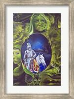 Framed King Arthur Travels