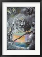Framed Merlin in Middle Earth