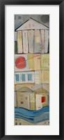 Rowhouse 2 Framed Print