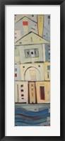 Rowhouse 3 Framed Print
