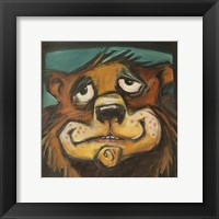 Bear Poster Framed Print