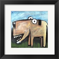 Dog Poster 1 Framed Print