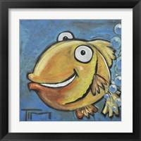 Framed Farting Fish