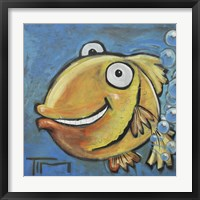 Framed Farting Fish