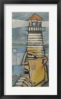 Framed Lighthouse Keeper