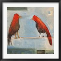 Birds Know 3 Framed Print