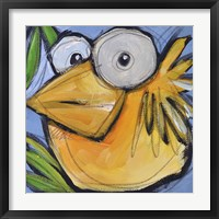 Gold Bird 1 Framed Print