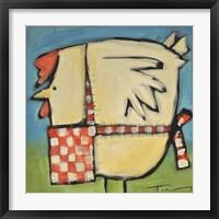 Mother Hen Framed Print