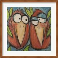 Framed Love Birds