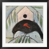Redwing House Framed Print