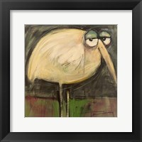 Framed Rotund Bird