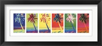 Framed Pop Art Palms