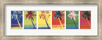 Framed Pop Art Palms