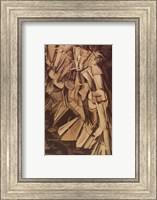 Framed Nude Descending Staircase