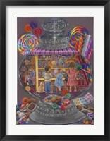 Framed Sweeties (Candy Jar)