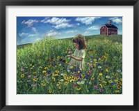 Framed Wildflowers