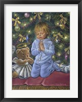 Framed Christmas Prayer