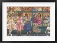 Framed Dolls To Treasure