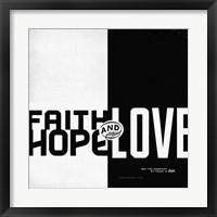 Framed Faith, Hope, Love II