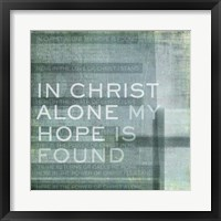 Framed In Christ Alone