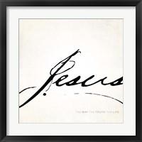 Framed Jesus