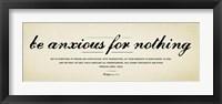 Framed Philippians 4v6-7
