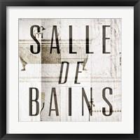 Framed Salle de Bains II