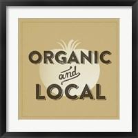 Organic And Local II Framed Print