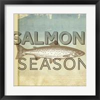 Framed Salmon Season