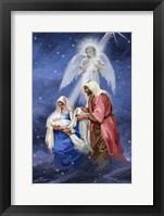 Framed Joseph And Mary