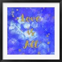 Framed Love Is All