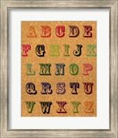 Framed ABC Vintage