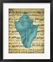 Blue Sea 1 Framed Print