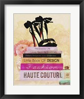 Fashionista Reads 2 Framed Print