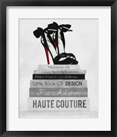 Fashionista Reads 3 Framed Print