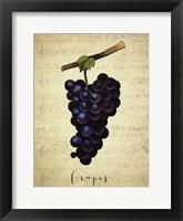 Grapes 1 Framed Print