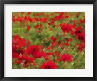 Framed Red Poppy Dream