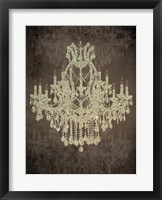 Chandelier II Framed Print