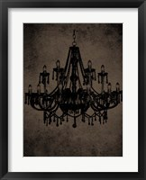 Chandelier III Framed Print
